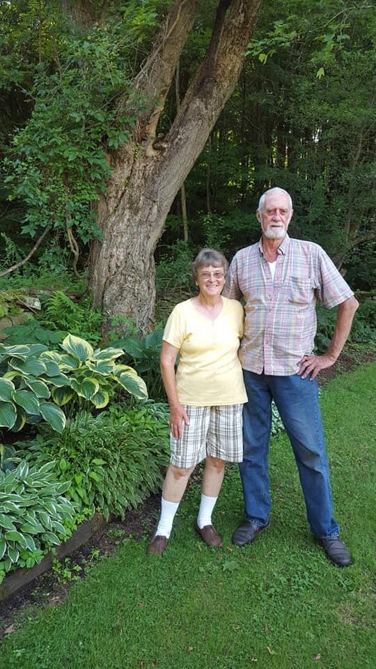 June and Dick Lambertson at their gardens